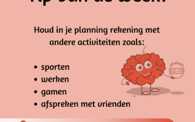 Tip van de week: timemanagement